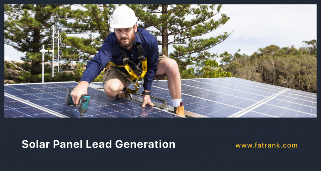Solar Panel Lead Generation