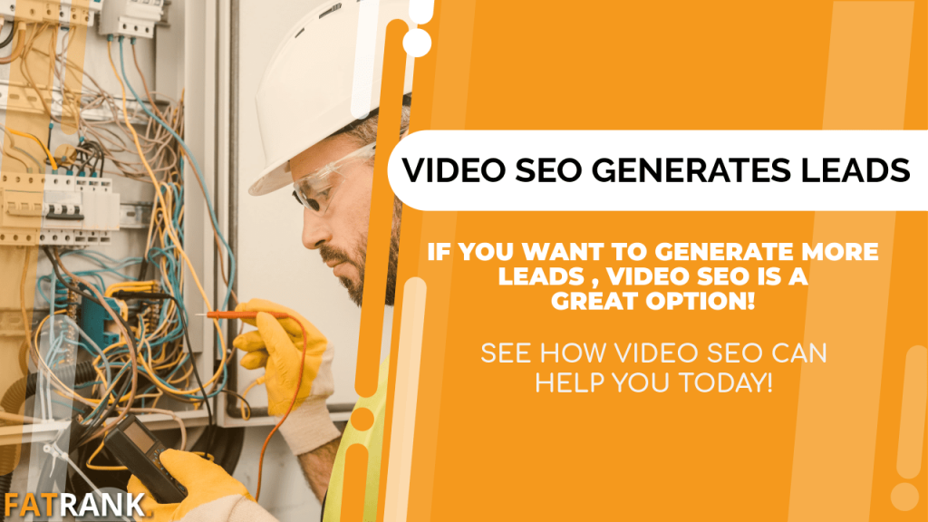 Video SEO generates electrician leads