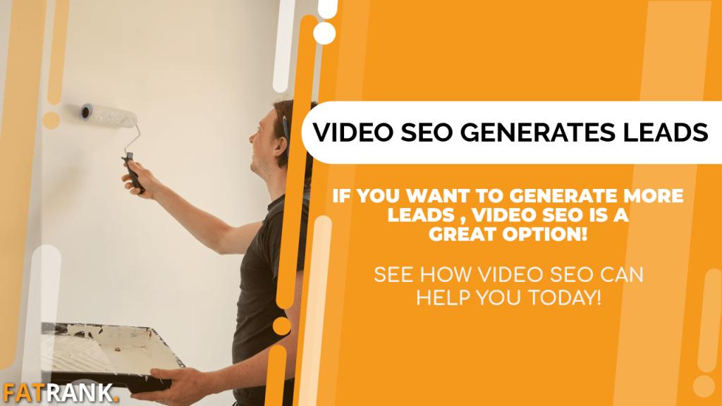 Video seo generates decorator leads