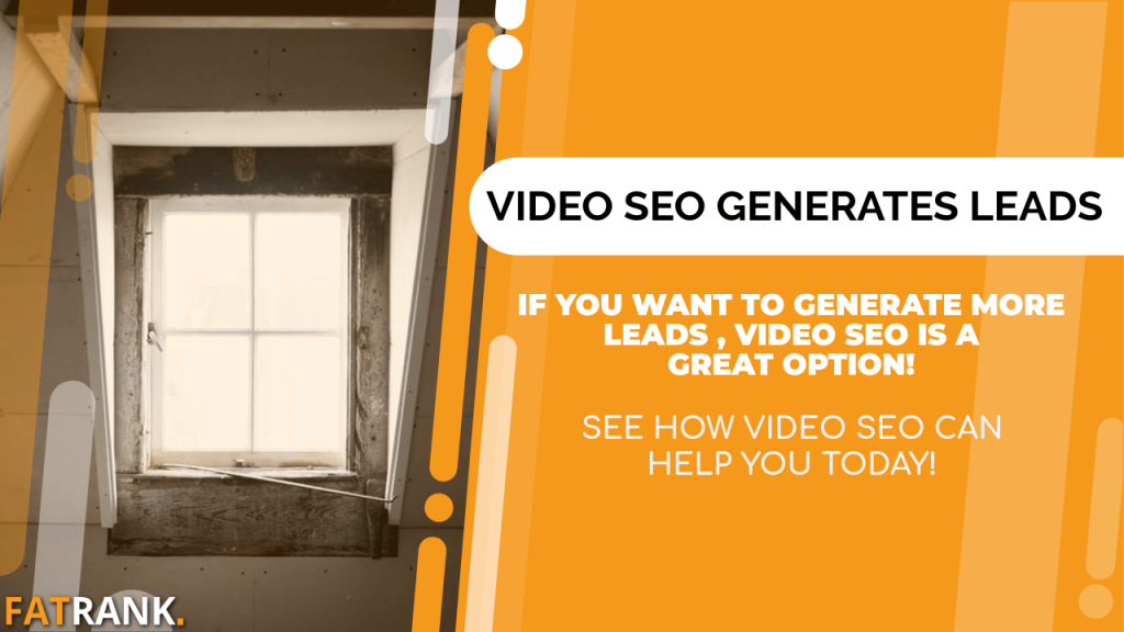 video seo generates loft conversion lead